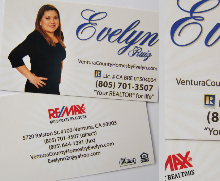 Evelyn Ruiz Business Cards