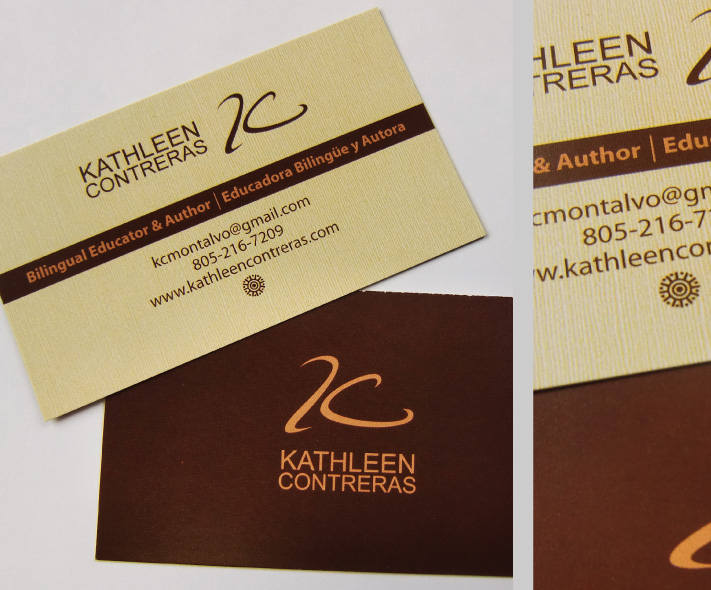 Kathlenn Contreras Business Cards